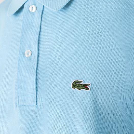 Áo Polo Nam Lacoste Men's Slim Fit Polo in Petit Piqué Light Blue 709