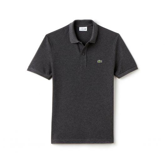 Áo Polo Nam Lacoste Petit Piqué Slim Fit Grey