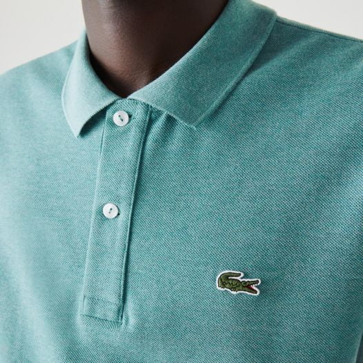 Áo Polo Nam Lacoste Men's Slim Fit Polo in Petit Piqué Green