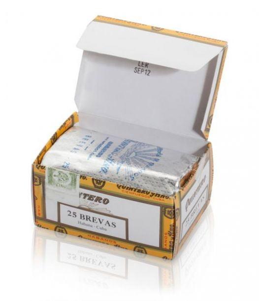 Cigar Quintero Brevas 5 1/2x40 - Hộp 25 Điếu