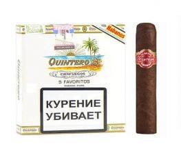 Cigar Quintero y Hermano Favoritos 4 1/2x50 - Hộp 5 Điếu