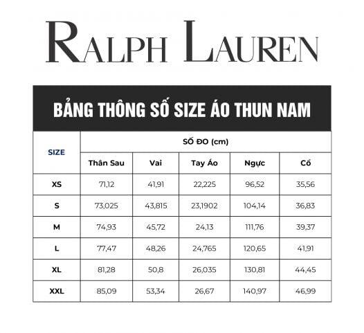 Áo Thun Nam Polo Ralph Lauren Men's Classic Fit Crew Neck T-Shirt Rosette Heather