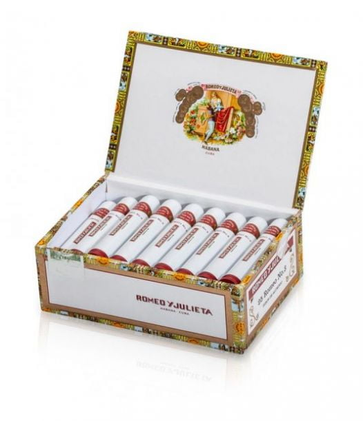 Cigar Romeo Julieta No3 Tubos 4 5/8x40