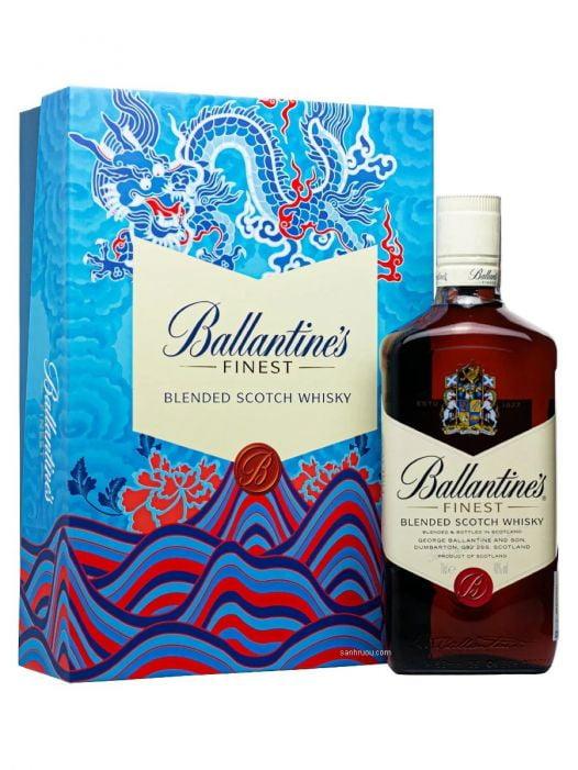 Rượu Whisky Ballantines Finest 70CL - Hộp Quà