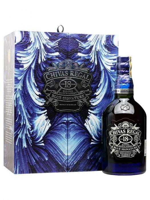 Rượu Whisky Chivas Regal  18YO 70CL Blue Signature  - Hộp Quà