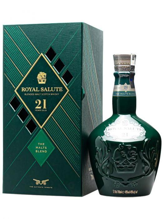 Rượu Whisky Royal Salute 21Yo Malts Blend 70Cl