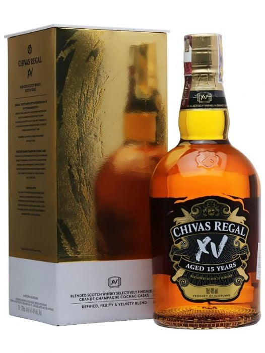 Rượu Whisky Chivas Regal 15YO Gold 70CL