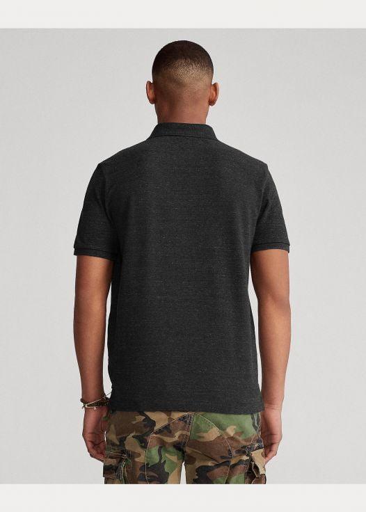 Áo Polo Nam Ralph Lautren The Iconic Mesh Polo Shirt - All Fits Black Marl Heather