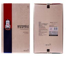 Sâm Lát Tẩm Mật Ong KGC - Cheong Kwan Jang Hộp 12 Gói x 20gr