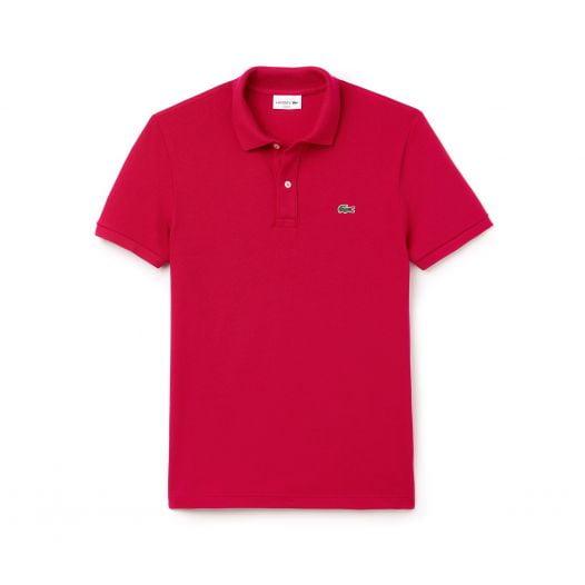 Áo Polo Nam Lacoste Petit Piqué Slim Fit Red