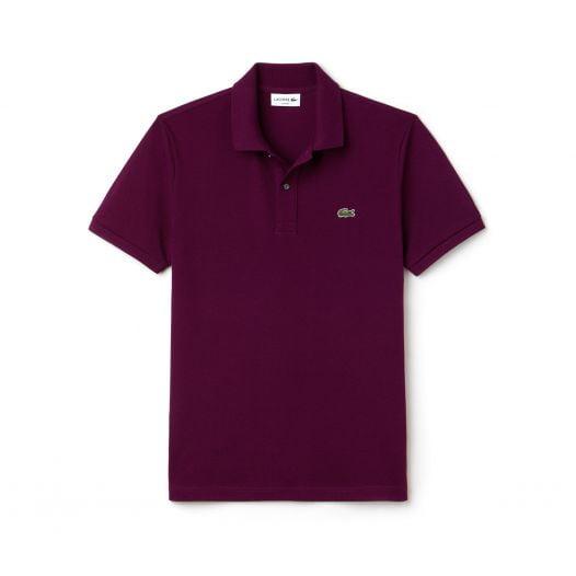 Áo Polo Nam Lacoste Petit Piqué Slim Fit Purple