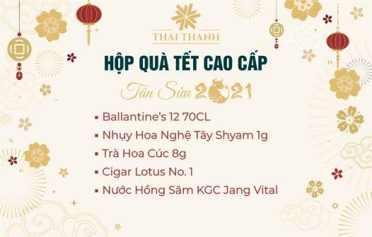 Set Quà Tết Ballantine's 12 Sổ 33