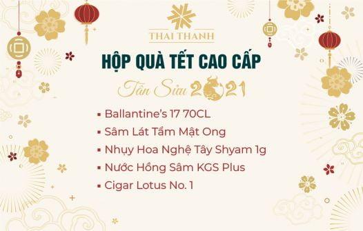 Set Quà Tết Ballantine's 17 Sổ 31