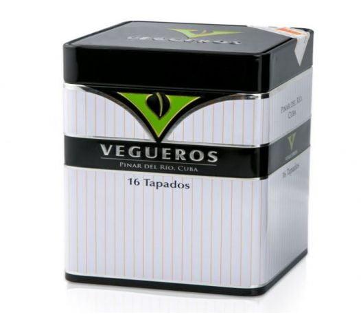 Cigar Vegueros Tapados 4 3/4x46 - Hộp 16 Điếu