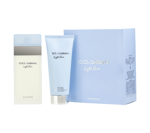Set Nước Hoa Nữ Dolce & Gabbana Light Blue (Travel Edition)