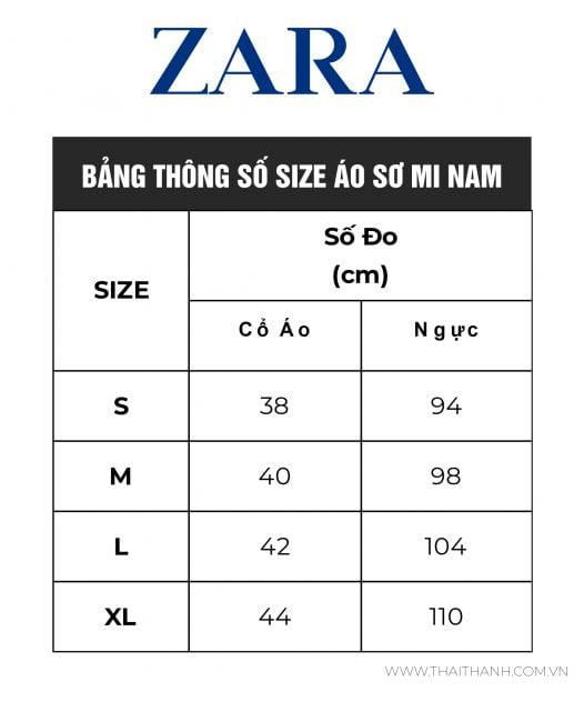 Áo Sơ Mi Nam Zara Textured Solid Color Shirt Red Navy