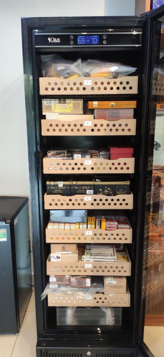 Tủ bảo quản xì gà